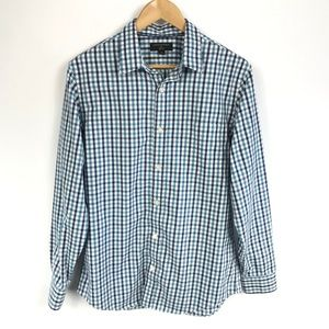 Banana Republic Mens Button Up Shirt Slim Fit